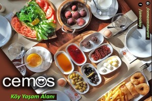 Cemos Köy'den Dolu Dolu Serpme Kahvaltı