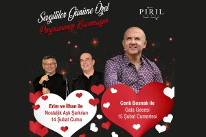 Çeşme Pırıl Otel'de Sevgililer Günü Galası Dahil Çift Kişilik Konaklama
