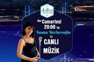 Boğaz Manzaralı Galba Restaurant'ta Her Cumartesi Tuana Berberoğlu Sahnesi