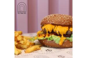 The Pink Bite'den Tadına Doyulmaz Hamburger Menüleri