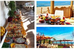 Silivri Soyaslan Şömine'de Denize Nazır Açık Büfe Kahvaltı Keyfi
