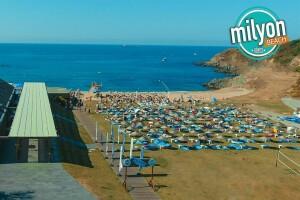 Milyon Beach Kilyos'ta Tüm Gün Plaj Keyfi veya Sezonluk Üyelik
