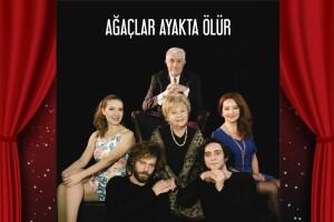 Nevra Serezeli & Nuri Gökaşan'ın Başrol Aldığı 'Ağaçlar Ayakta Ölür' Tiyatro Bileti