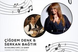 22 Şubat Cumartesi Yunanca ve Türkçe Şarkılar eşliğinde Akşam Yemeği