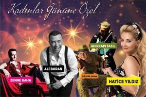 Banquet Deluxe Bahçeşehir'den 7 Mart'ta Kadınlar Gününe Özel Muhteşem Eğlence