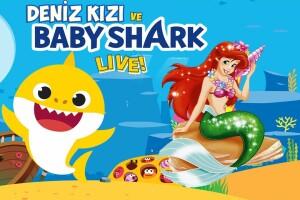 'Deniz Kızı ve Baby Shark Live' Çocuk Tiyatro Oyunu Bileti