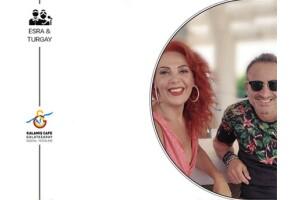 28 Şubat Cuma Galatasaray Kalamış Cafe'de Akşam Yemeği ile Esra & Turgay Sahneleri Eşliğinde Eğlence