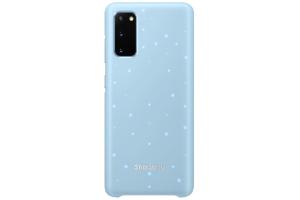 Samsung Galaxy S20 LED Kılıf Mavi