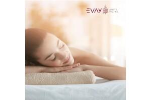 Evay Suite Hotel Spa'da Islak Alan Kullanımı Dahil Masaj Seçenekleri