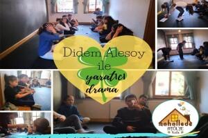Mahallede Atölye'den Çocuklar İçin Yaratıcı Drama Dersleri ve Oyun Odasında Eğlence