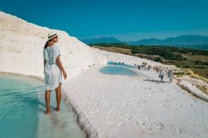 Her Cuma Kalkışlı 1 Gece 2 Gün Konaklamalı Pamukkale Travertenleri, Hierapolis Antik Kenti, Çeşme, Alaçatı Turu