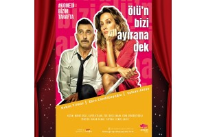 Hakan Yılmaz, Ebru Cündübeyoğlu ve Cengiz Şahin'in Sahnelediği 'Ölü'n Bizi Ayırana Dek' Tiyatro Oyunu Bileti