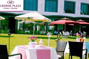 Crowne Plaza Orya Park Ümraniye'de Hafta Sonlarınızı Şölene Çevirecek Açık Büfe Kahvaltı Keyfi