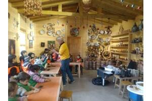 34 Orman Park'ta Dramalı Ahşap, Çömlek Seramik, Ekmek Yapım, Pasta Mutfak Modelleme, Çiftçi Bahçıvan Atölyeleri