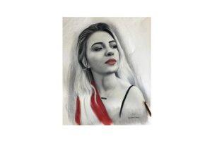 Kişiye Özel Karakalem Portre Çizimi