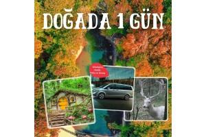Size Özel Doğada 1 Gün Turu! Dilediğiniz Saate VİP Araç ile Gidiş Dönüş Kocaeli Ormanya Doğal Yaşam Parkı Turu