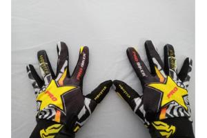 Probiker Monster Siyah/sarı Yazlık Motosiklet Eldiven (Hediyeli)