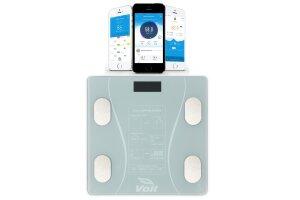 Voit Blt5000 Akıllı Bluetoothlu Yağ Ölçerli Vücut Analiz Baskülü