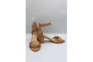 Kadın Topuklu Tek Bantlı Ayakkabı