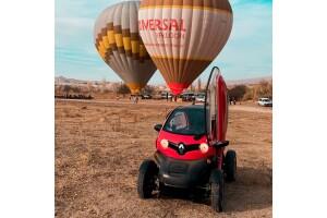 Özel Twizy Araçla Gün Batımı, Balon Seyir Seçenekli Kapadokya Turları