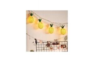 Dekoratif 3D Ananas Ampüllü Led Aydınlatma 10 Ledli