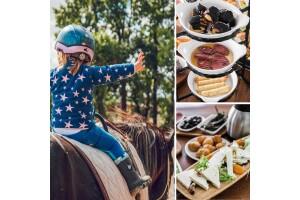 Çatalca Başarır At Çiftliği'nde Doğa İçerisinde Serpme Kahvaltı, Köfte Ekmek ve At Safari Seçenekleri