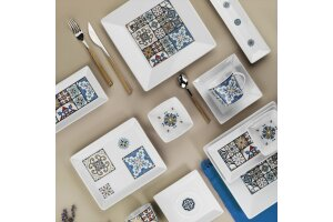 Kütahya Porselen 10645 Maya 30 Parça Kahvaltı Takımı Mix
