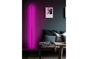 Esda Led Dekoratif Lambader -Led Lamba Işık Sistemi-Siyah- Full Rgb Renk