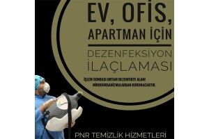 Pınarım Temizlik'ten Bioksi T.C. Sağlık Bakanlığı Onaylı Dezenfektanlar İle Dezenfeksiyon Hizmeti