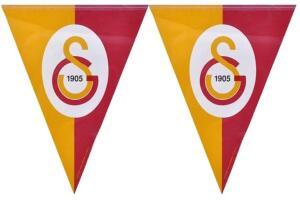Galatasaray Lisanslı Üçgen Bayrak Afiş