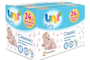 Uni Baby Classic Islak Havlu Kapakli 24X90'lı 2160 Yaprak Yeni