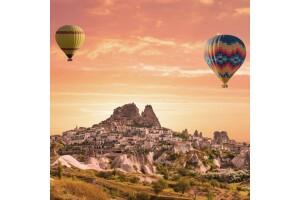 Her Hafta Hareketli Balon Turu Dahil 1 Gece 2 Gün Yarım Pansiyon Kapadokya Turu
