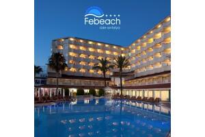 Febeach Hotel'de Herşey Dahil Konaklama Seçenekleri