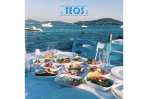 Kınalıada Teos Beach Club'ta Denize Karşı Lezzet Dolu Yemek Menüleri