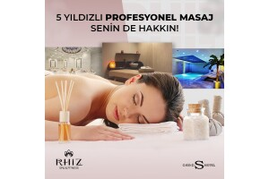 Rhiz Spa & Fitness, Grand S Hotel'de Tesis Kullanımı, Masaj ve Fitness Paketleri