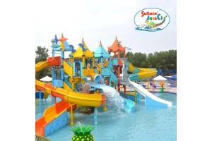 Sultans Aquacity Fethiye'de Tüm Gün Aquapark Kullanımı