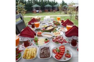 Bahçem Et Restaurant'ta Hafta Sonlarına Özel Açık Büfe Kahvaltı