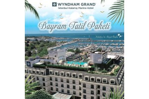 Anadolu Yakası'nın Lüksü Wyndham Grand Istanbul Kalamış Marina Hotel'de 2 Kişilik Bayram Keyfi Paketleri