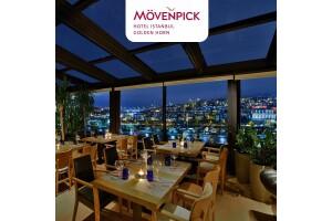 Muhteşem Haliç Manzaralı Mövenpick Hotel Istanbul Golden Horn Skydome'da Enfes Lezzetlerle Dolu Akşam Yemeği Keyfi
