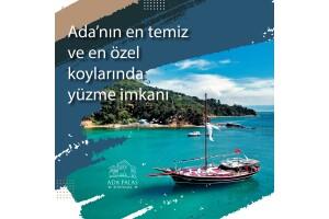 İstanbul Adalar Bölgesi'nde Öğle Yemeği Dahil Özel Yat ile Yüzme Turu