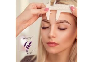 Nişantaşı Nermin Negiz Beauty Center'da Yüzünüze Özel Kaş Tasarımı Uygulaması