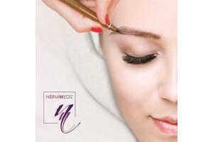 Nermin Negiz Beauty Center'da Microblading Uygulaması