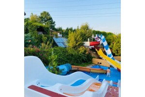 Natural Rehabilitate Centre'da Havuz, Su Kaydırağı, Trambolin ile Gün Boyu Eğlence ve Kahvaltı Menüleri