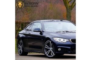 Reborn Car Wash'tan Kapsamlı Temizlik ve Seramik Kaplama Uygulaması