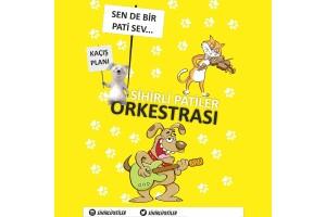 'Sihirli Patiler Orkestrası' Çocuk Tiyatro Bileti