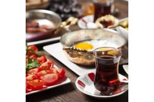 Saraçhane Gölet'de Kişi Başı Serpme Kahvaltı Menüsü