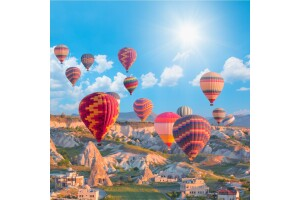 Balon Turu Dahil 5* Otel Konaklamalı Dolu Dolu Kapadokya Turu