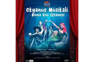 'Okyanus Müzikali' Deniz Kızı Efsanesi Çocuk Tiyatro Bileti