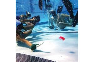 Olimpik Yüzme Spor Kulübü'nden, Üsküdar Burhan Felek Yüzme Havuzunda 3 Seanslık Sualtı Hokey Eğitimi