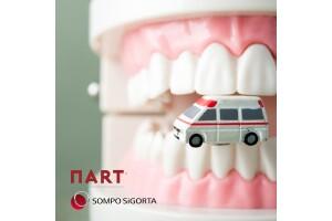 Nart ve Sompo Sigorta'dan Sağlıklı Dişler Paketi ve Bir Çok Hediye Hizmet